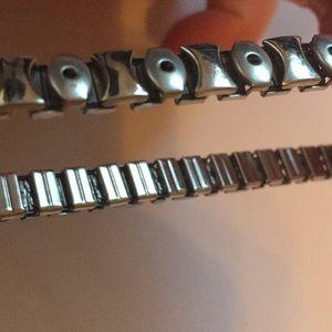 Jewelry - Fashion Jewelry Stainless Steel Stretchy Bracelet
